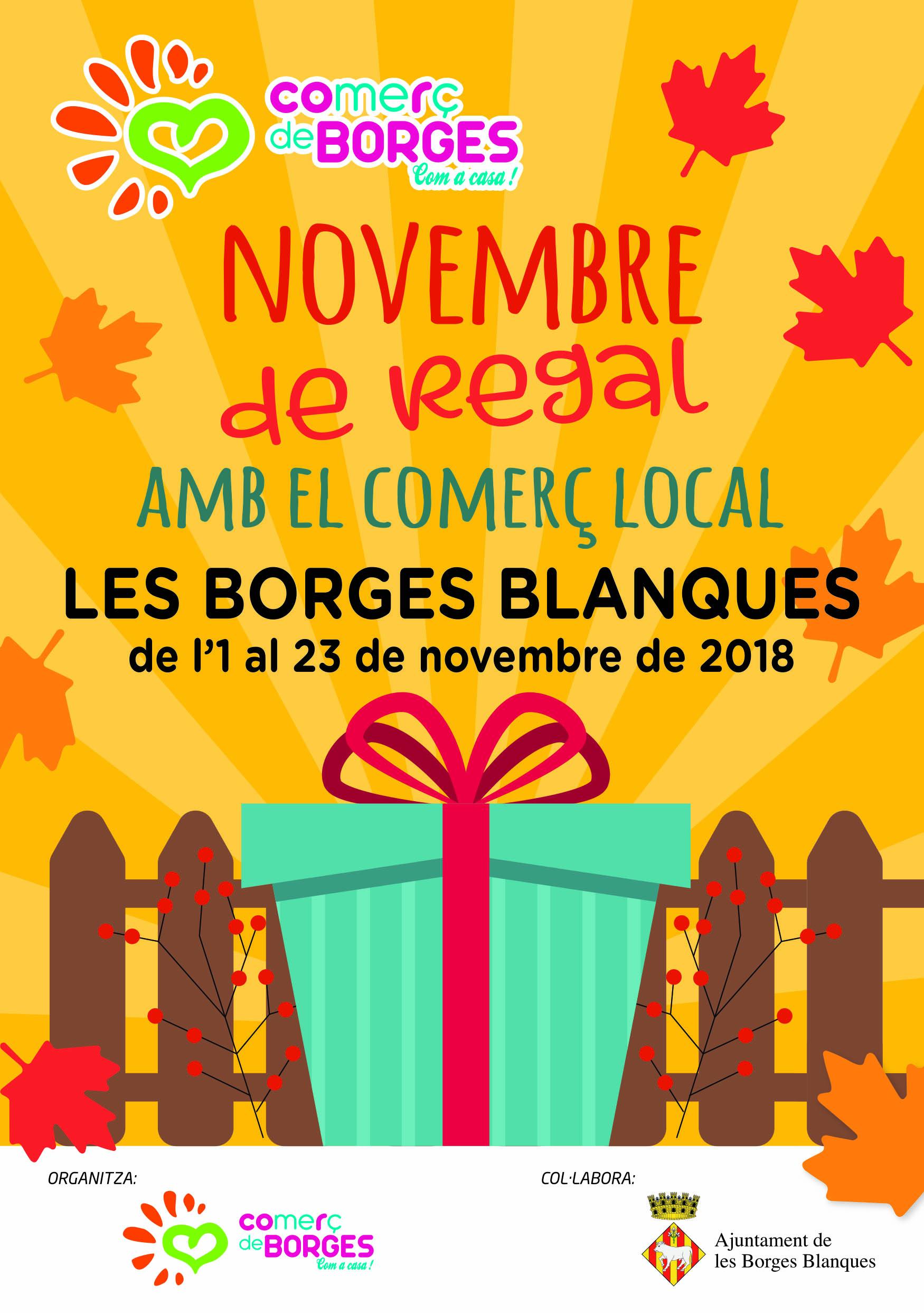 Borges Comerç campanya novembre cartell